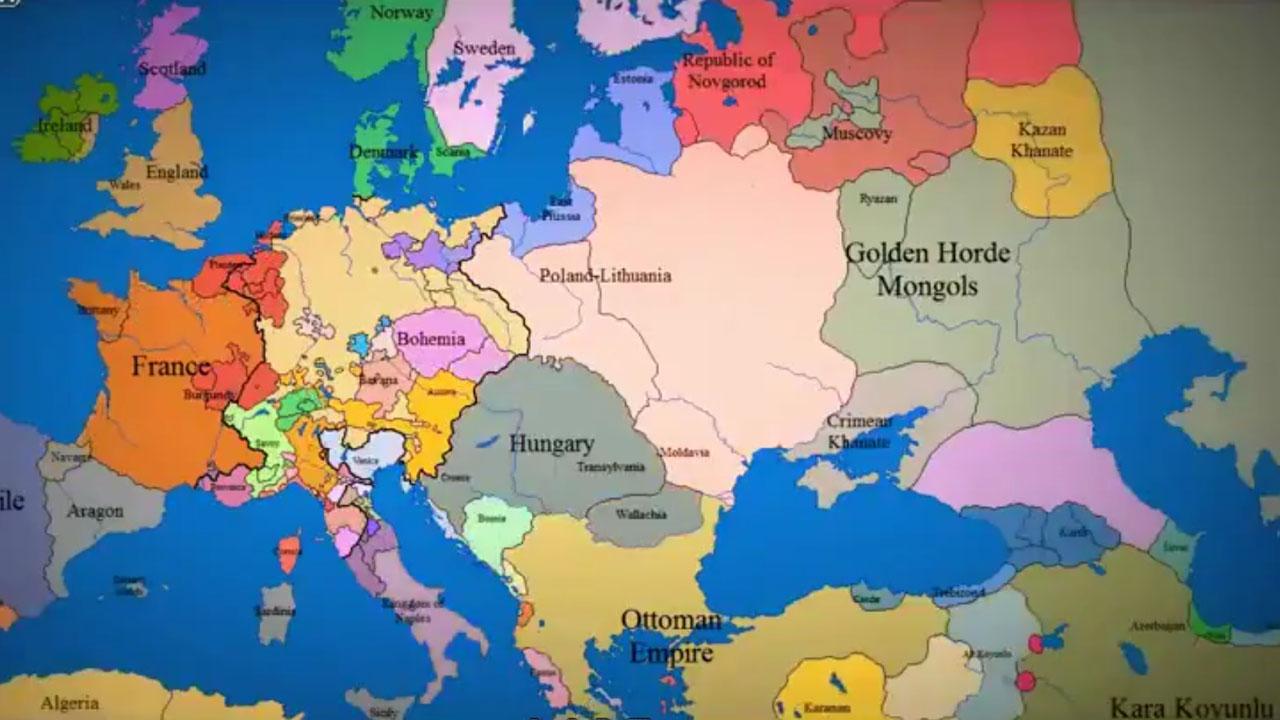 Zsyp Tv Mapa Europy 1420 2012